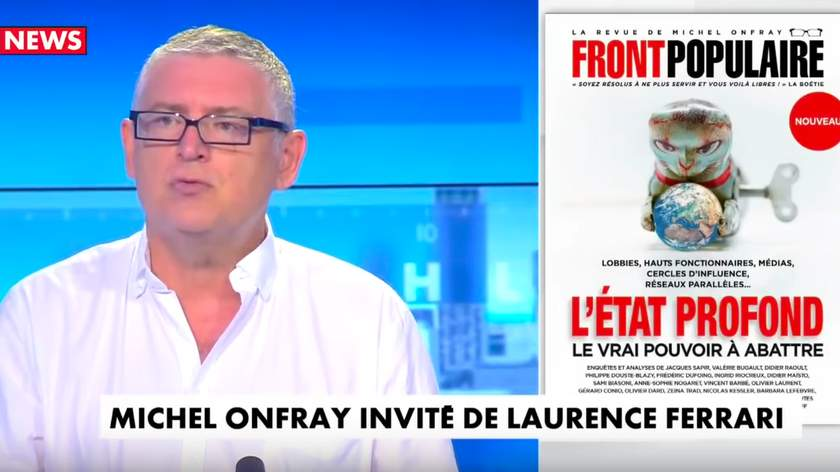 Michel Onfray invité sur CNews : Qui gouverne la France ?